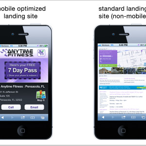 shrink your site from desktop to mobile website friendly